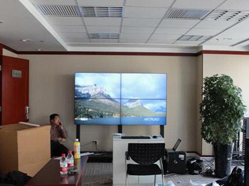 朗悦科技成功完成社科院会议室大屏拼接项目