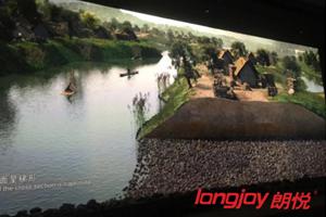 日立DLP工程投影机助力良渚博物院华丽归来