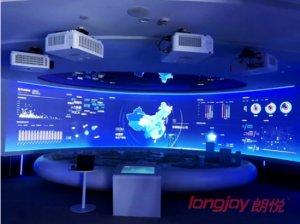智能化展厅让你大开眼界 日立DLP工程投影机倾力打造纳爱斯集团展