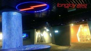 日立DLP工程投影机为某集团展厅创意视觉添彩