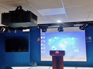 【案例分享】麦克赛尔工程投影机打造高效报告厅