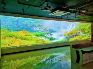 企业展厅青睐麦克赛尔激光投影机